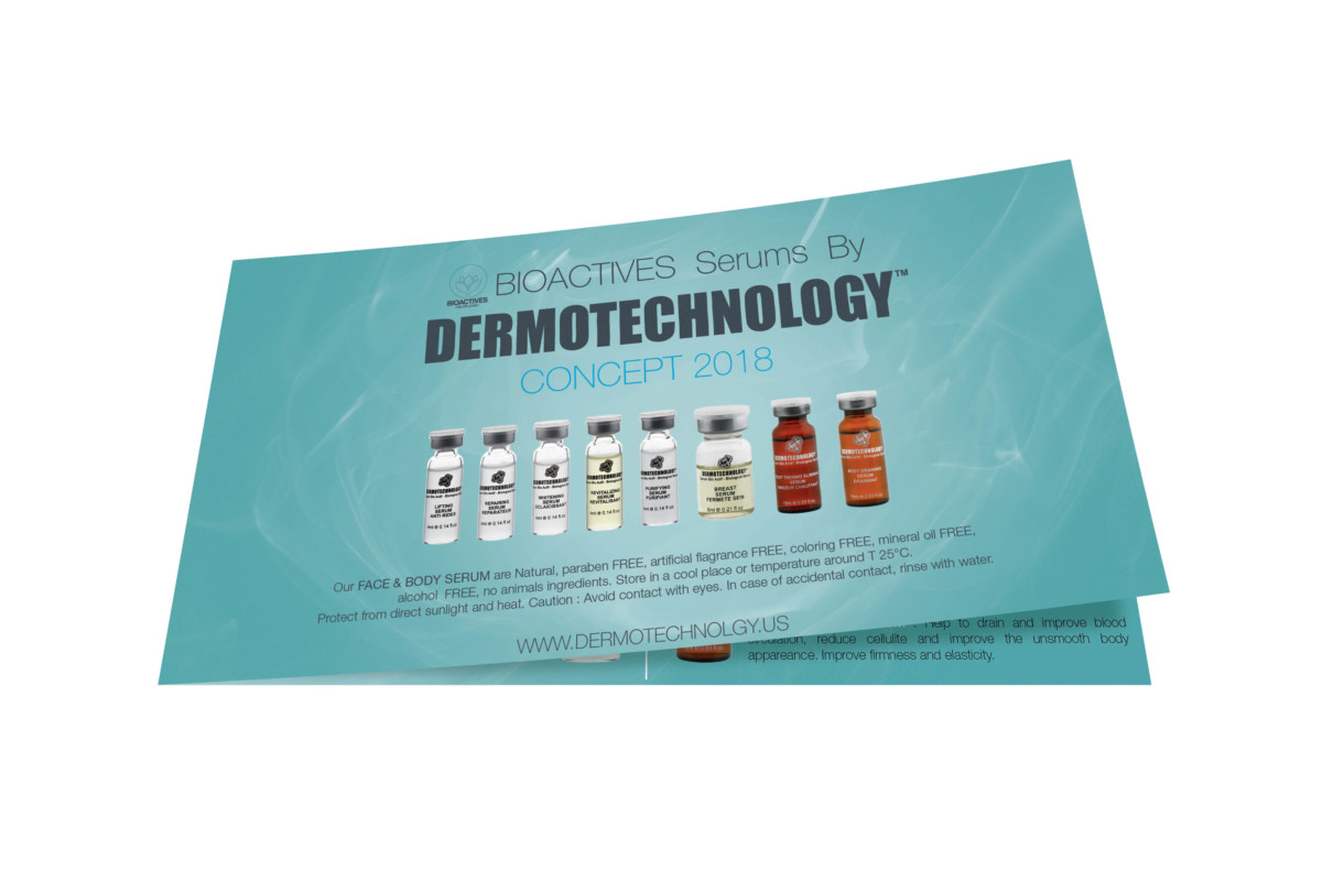 Dermotechnology flyer