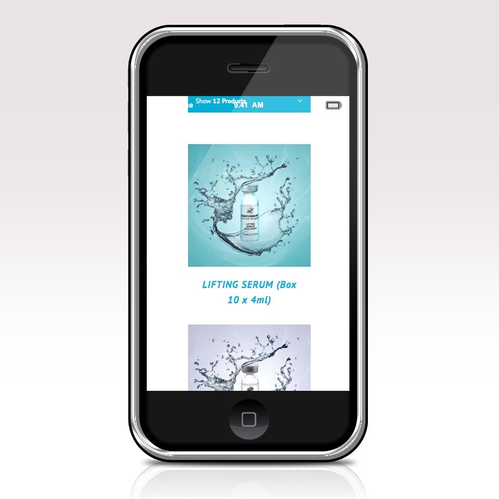 Dermotechnology mise en page web