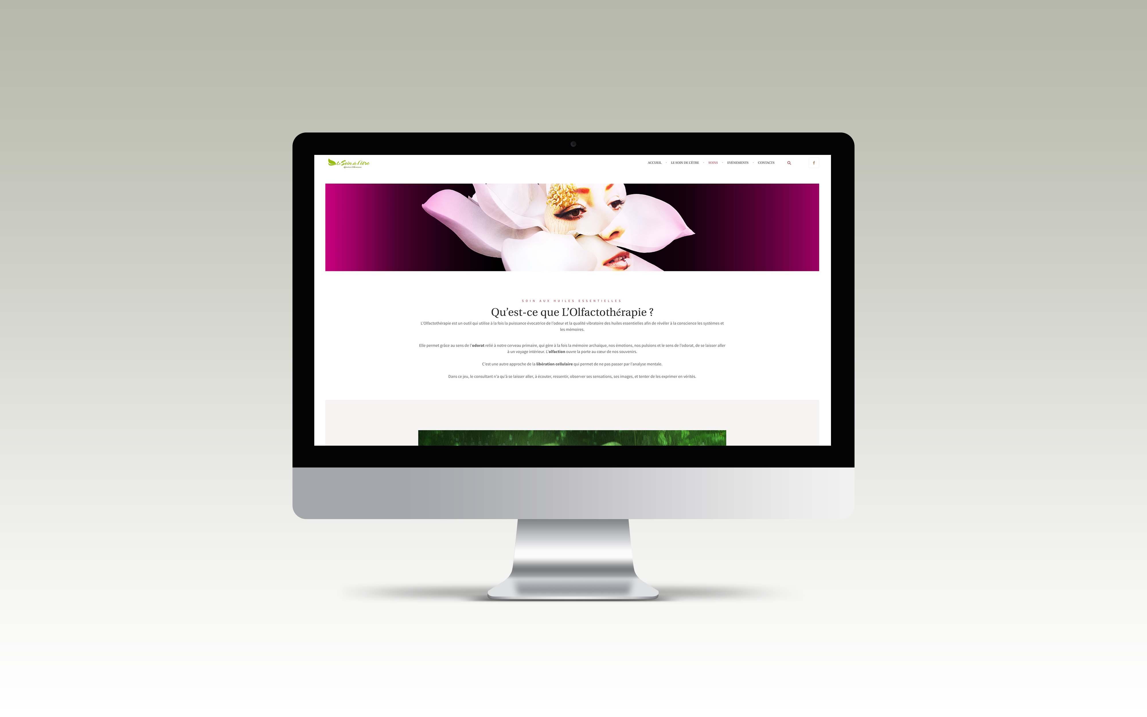 graphisme mise en page web identité graphique direction artistique wordpress