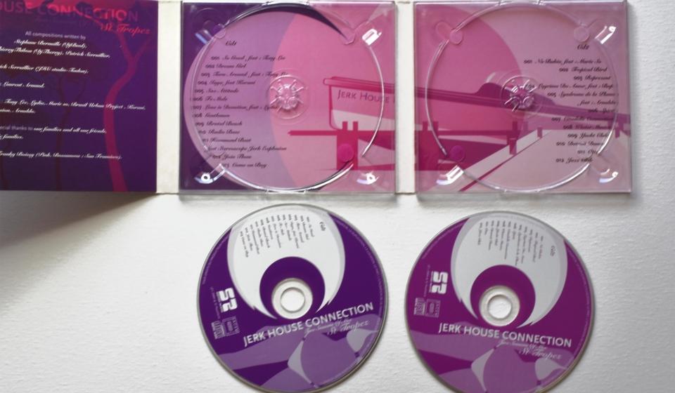 graphisme illustration vectorielle direction artistique pochette cd