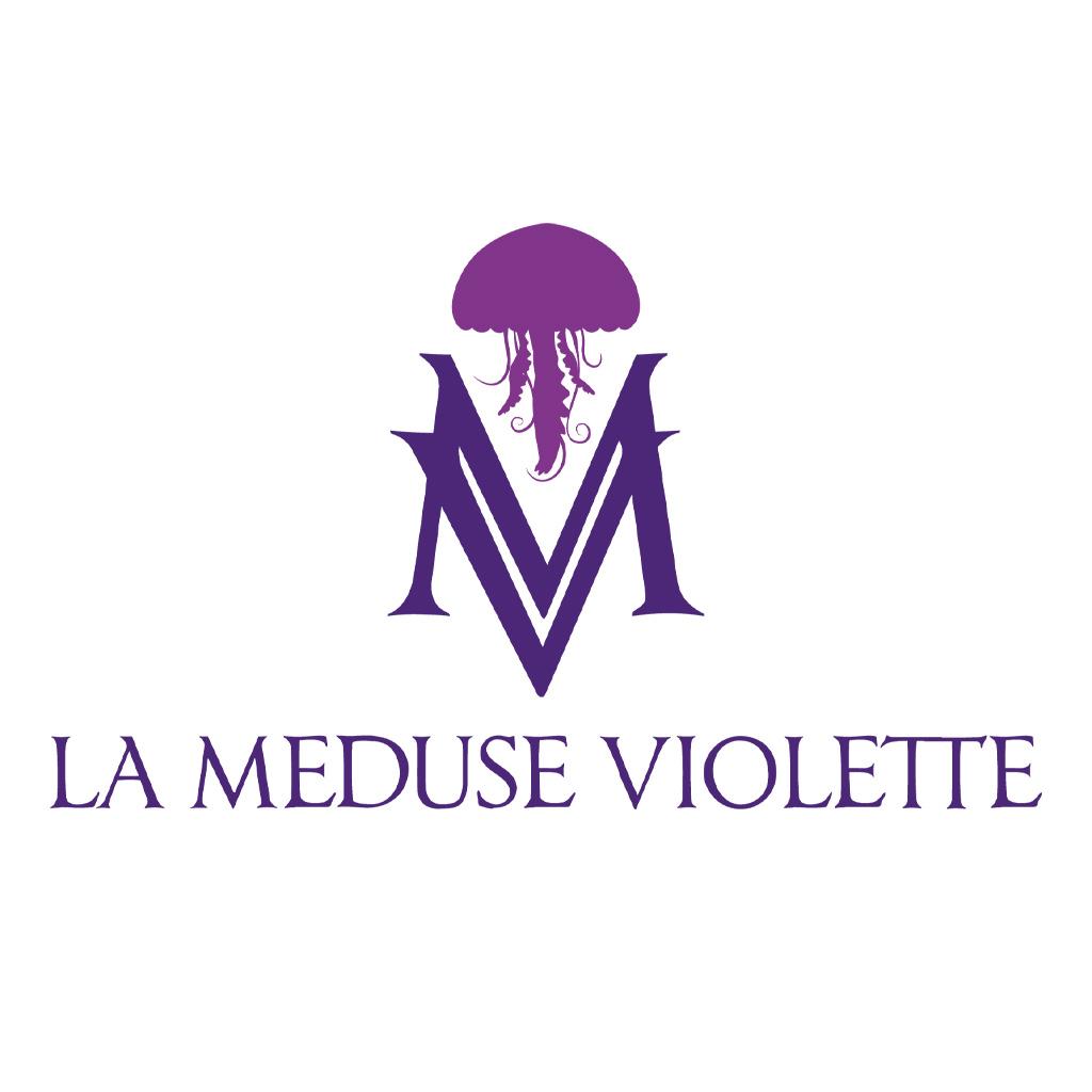 La Méduse Violette logo
